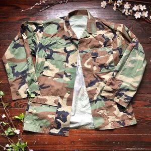 VTG | Army Camouflage Jacket | L